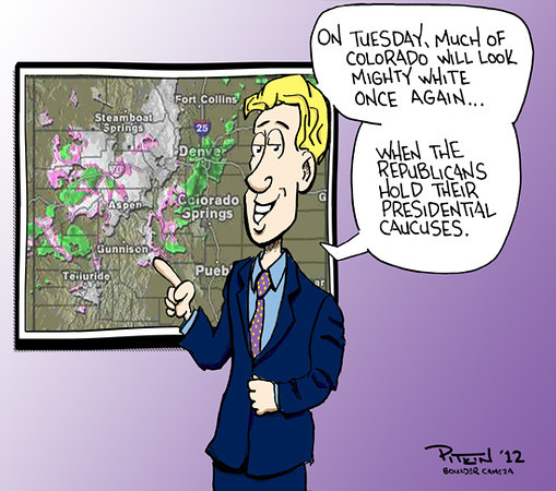 Hap Pitkin Editorial Cartoons<br /> 2012<br /> Dailycamera.com, Boulder
