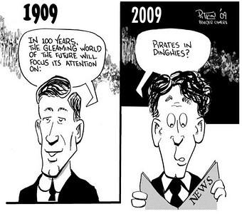 April 11, 2009 Hap Pitkin Editorial Cartoon - DailyCamera.com Boulder, CO