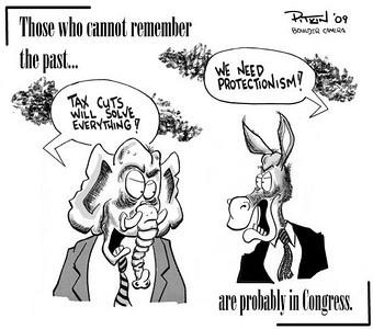 February 7, 2009 Hap Pitkin Editorial Cartoon - DailyCamera.com Boulder, CO