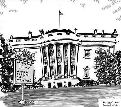 February 21, 2009 Hap Pitkin Editorial Cartoon - DailyCamera.com Boulder, CO