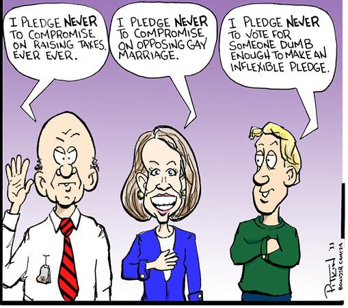 July 19, 2011<br /> Hap Pitkin Editorial Cartoon<br /> Dailycamera.com Boulder, CO