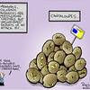 Sept. 13, 2011<br /> Hap Pitkin Editorial Cartoon<br /> Dailycamera.com Boulder, CO