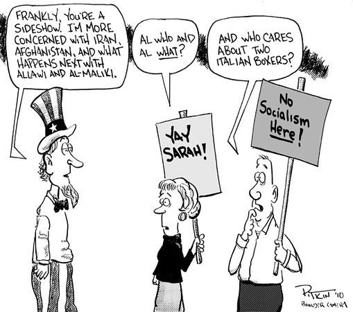 March 30, 2010<br /> Hap Pitkin Editorial Cartoon<br /> Dailycamera.com, Boulder, CO