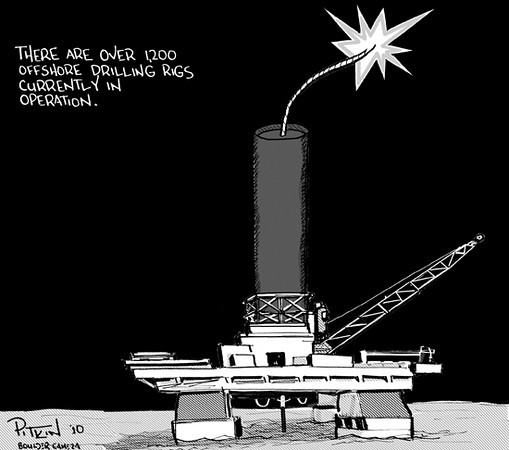 June 8,2010<br /> Hap Pitkin editorial cartoons<br /> Dailycamera.com, Boulder, CO
