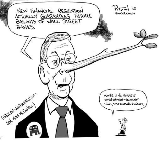 April 27, 2010<br /> Hap Pitkin editorial cartoons<br /> Dailycamera.com, Boulder, CO