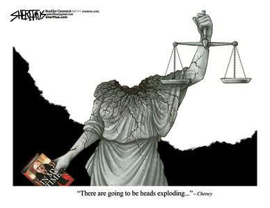Sept. 2, 2011<br /> John Sherffius Editorial Cartoon<br /> Dailycamera.com Boulder, CO