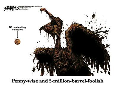 Sept. 16, 2011<br /> John Sherffius Editorial Cartoon<br /> Dailycamera.com Boulder, CO