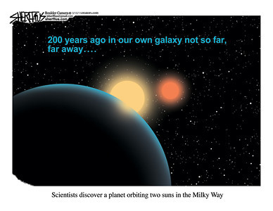 Sept. 20, 2011<br /> John Sherffius Editorial Cartoon<br /> Dailycamera.com Boulder, CO