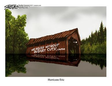 Sept. 1, 2011<br /> John Sherffius Editorial Cartoon<br /> Dailycamera.com Boulder, CO