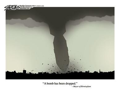 April 29, 2011<br /> John Sherffius Editorial Cartoon<br /> Dailycamera.com Boulder, CO