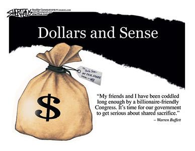 Aug. 19, 2011<br /> John Sherffius Editorial Cartoon<br /> Dailycamera.com Boulder, CO