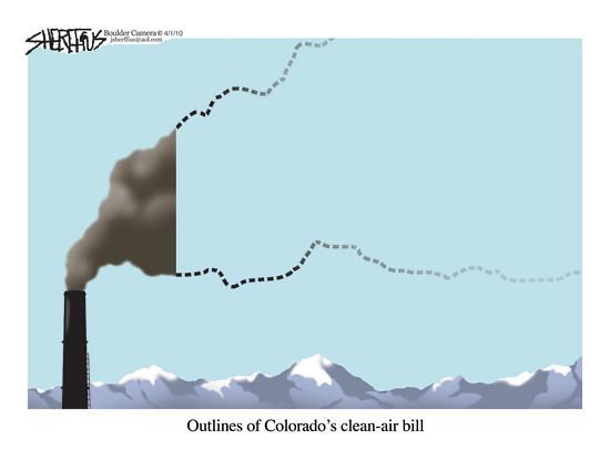 April 3, 2010<br /> John Sherffius Editorial Cartoon<br /> Dailycamera.com, Boulder, CO