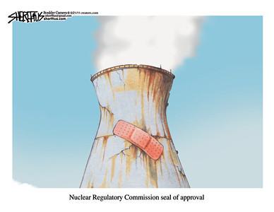 June 23, 2011<br /> John Sherffius Editorial Cartoon<br /> Dailycamera.com Boulder, CO