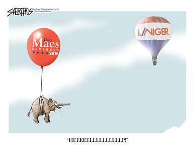 Aug. 14, 2010<br /> John Sherffius Editorial Cartoon<br /> Dailycamera.com Boulder, CO