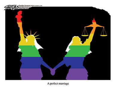 Feb. 25, 2011<br /> John Sherffius Editorial Cartoon<br /> Dailycamera.com Boulder, CO
