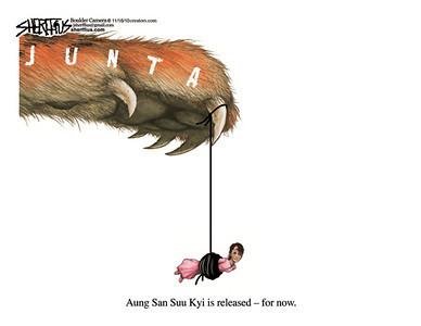 Nov. 17, 2010<br /> John Sherffius Editorial Cartoon<br /> Dailycamera.com Boulder, CO