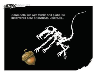 Nov. 23, 2010<br /> John Sherffius Editorial Cartoon<br /> Dailycamera.com Boulder, CO