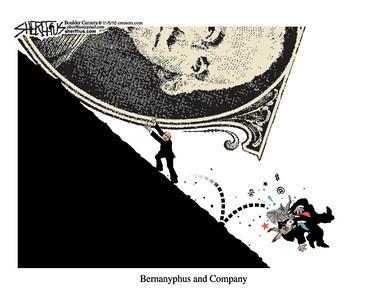 Nov. 7, 2010<br /> John Sherffius Editorial Cartoon<br /> Dailycamera.com Boulder, CO