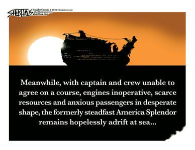 Nov. 13, 2010<br /> John Sherffius Editorial Cartoon<br /> Dailycamera.com Boulder, CO