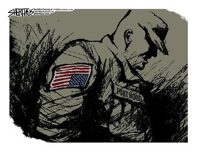 Nov. 8, 2009 Second<br /> John Sherffius Editorial Cartoon<br /> Dailycamera.com Boulder, CO