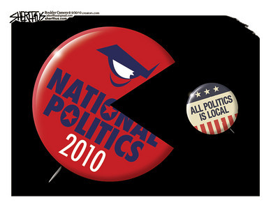 Oct. 4, 2010<br /> John Sherffius Editorial Cartoon<br /> Dailycamera.com Boulder, CO