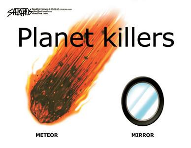 Oct. 30, 2010<br /> John Sherffius Editorial Cartoon<br /> Dailycamera.com Boulder, CO