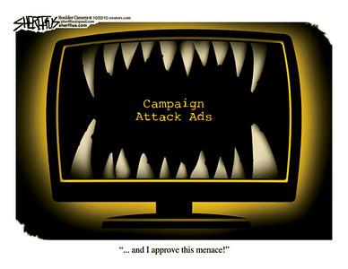 Oct. 26, 2010<br /> John Sherffius Editorial Cartoon<br /> Dailycamera.com Boulder, CO