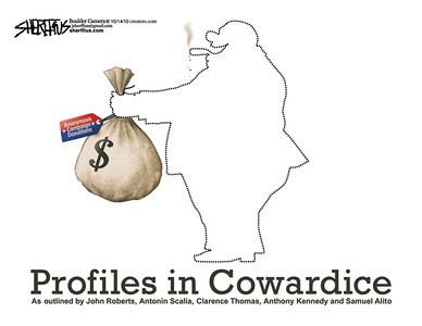 Oct. 18, 2010<br /> John Sherffius Editorial Cartoon<br /> Dailycamera.com Boulder, CO