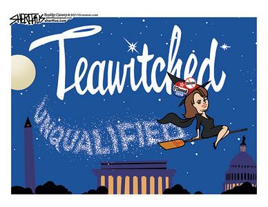 Sept. 24, 2010<br /> John Sherffius Editorial Cartoon<br /> Dailycamera.com Boulder, CO