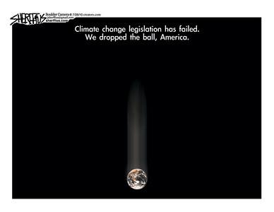 July 28, 2010<br /> John Sherffius Editorial Cartoon<br /> Dailycamera.com Boulder, CO