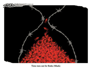 May 30, 2011<br /> John Sherffius Editorial Cartoon<br /> Dailycamera.com Boulder, CO
