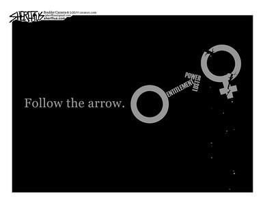 May 22, 2011<br /> John Sherffius Editorial Cartoon<br /> Dailycamera.com Boulder, CO