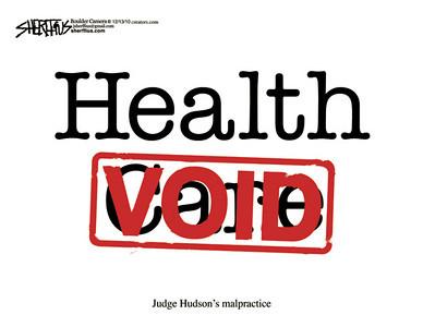 Dec. 16, 2010<br /> John Sherffius Editorial Cartoon<br /> Dailycamera.com Boulder, CO