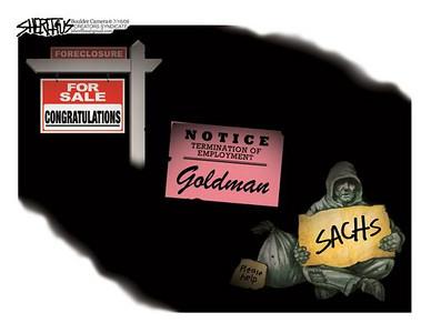 July 18, 2009 John Sheriffus Editorial Cartoon - DailyCamera.com Boulder, CO