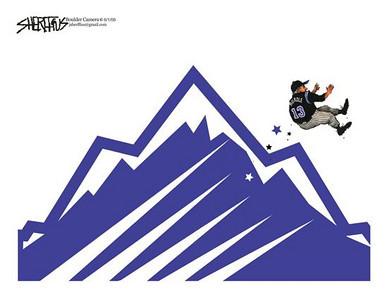 June 2, 2009 John Sheriffus Editorial Cartoon - DailyCamera.com Boulder, CO