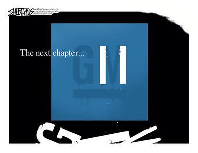 June 4, 2009 John Sheriffus Editorial Cartoon - DailyCamera.com Boulder, CO