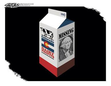 May 14, 2009 John Sheriffus Editorial Cartoon - DailyCamera.com Boulder, CO