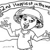 Sun.Star Bacolod editorial cartoon - 82nd happiest in the world