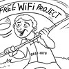 Sun.Star Bacolod editorial cartoon on free wifi project of Philippine govenrment