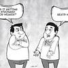 Sun.Star Cebu editorial cartoon on conflicting weather reports