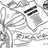 Sun.Star Bacolod editorial cartoon on Zika virus information campaign