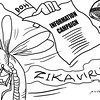 Sun.Star Bacolod editorial cartoon on Zika virus information campaign