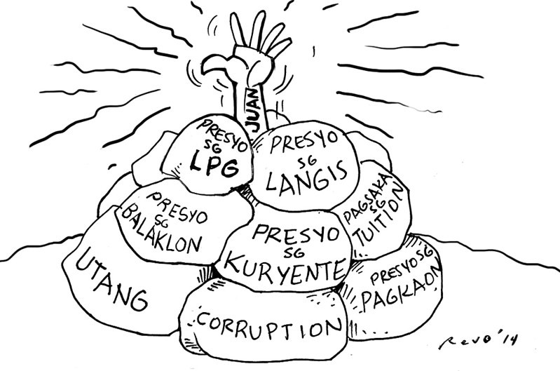 Sun.Star Bacolod editorial cartoon for March 19, 2014