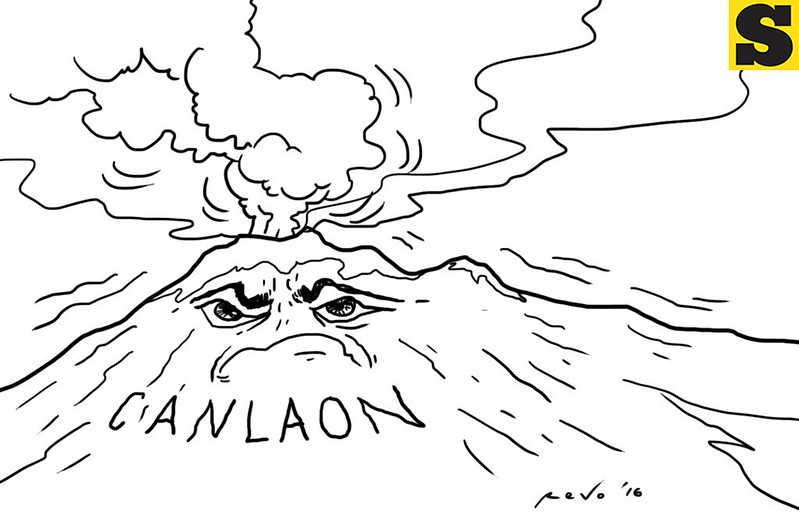 Mount Canlaon in Negros Occidental erupts
