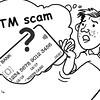 Sun.Star Bacolod 's editorial cartoon on ATM scam