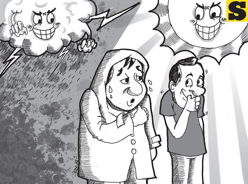 Sun.Star Cebu's editorial cartoon on El Nino