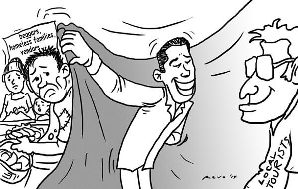 Sun.Star Bacolod editorial cartoon for October 30, 2014