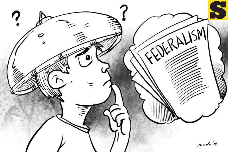 SunStar Bacolod editorial cartoon on federalism