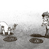 Sun.Star Cebu's editorial cartoon on Thailand power grabbing