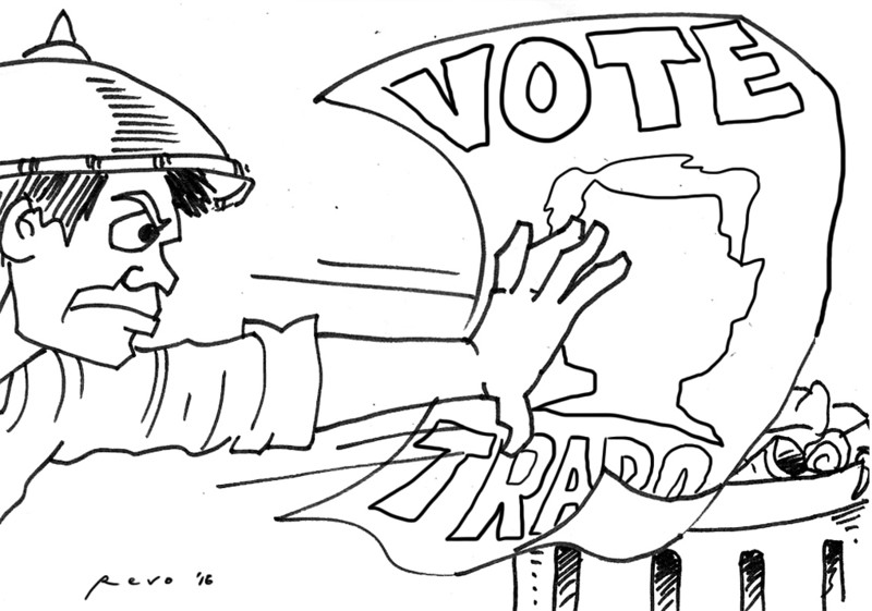 Sun.Star Bacolod editorial cartoon on trapo voting